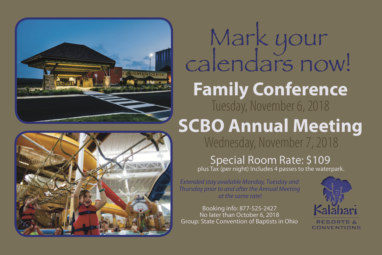 SCBO Annual Meeting & Family Conference | scbo org