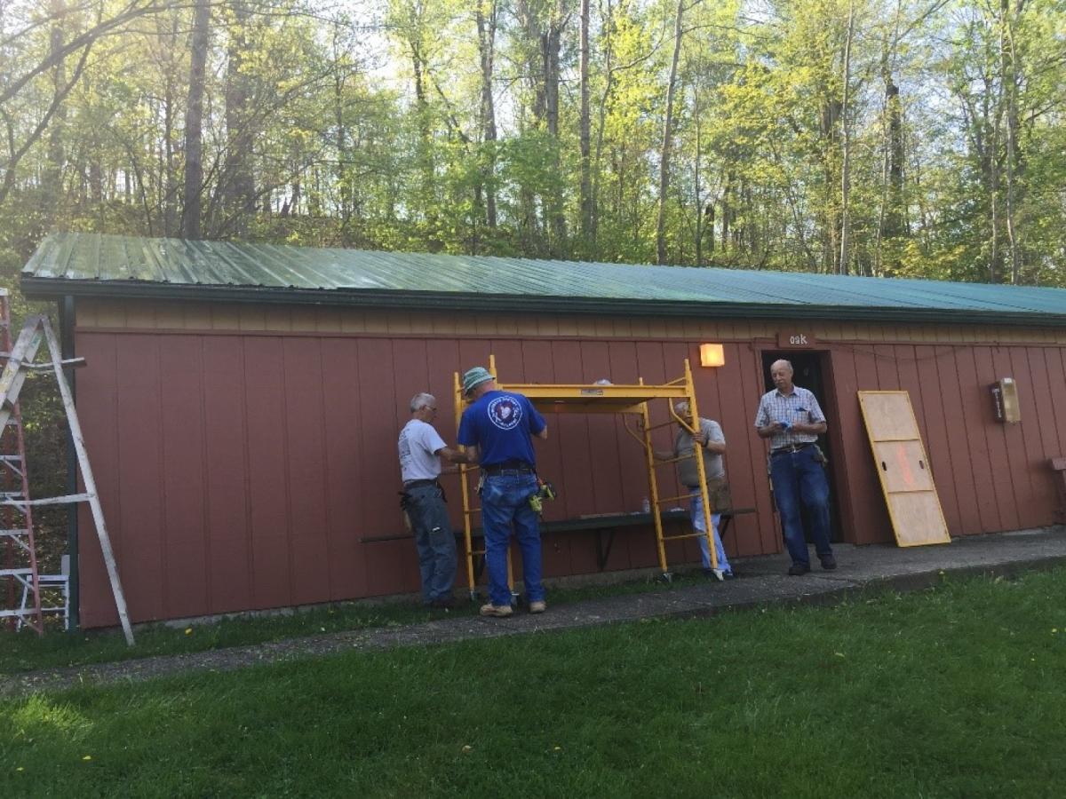 Buckeye baptist builders at seneca lake in 2018 for Seneca lake ohio cabins